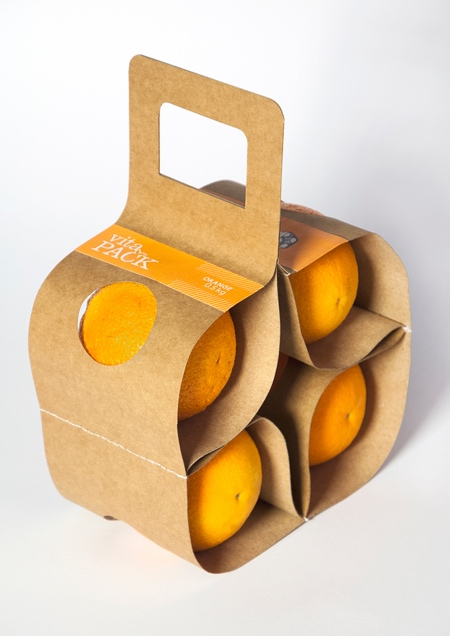 Orange Fruit Packaging