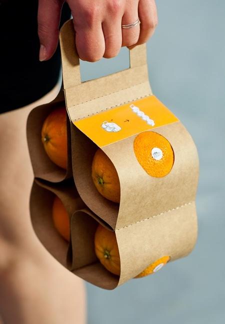VitaPack Orange Fruit Packaging