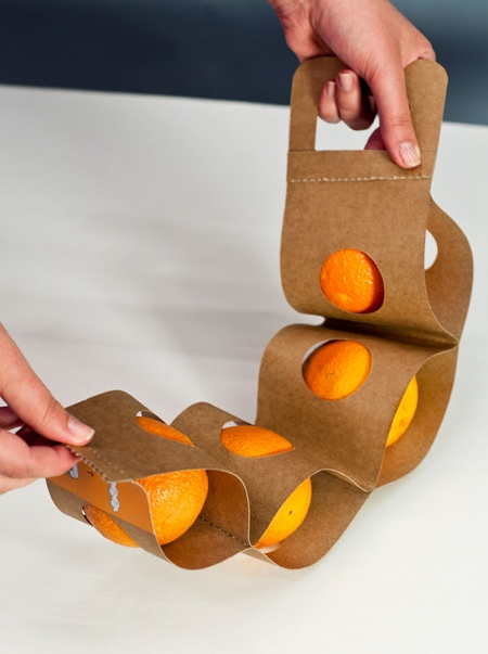Agnes Gyomrei Orange Packaging