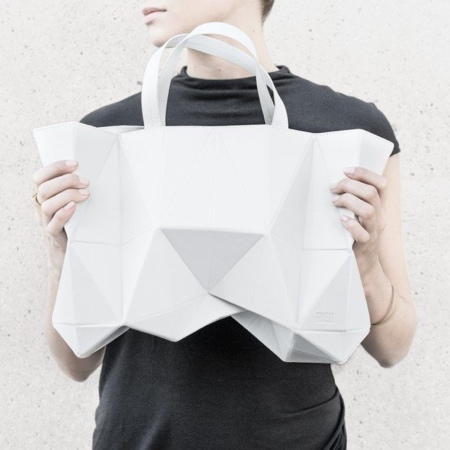 Leather Origami Bag
