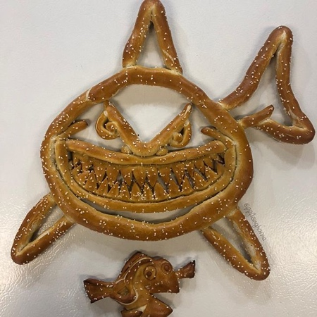 Pretzel Sculptures