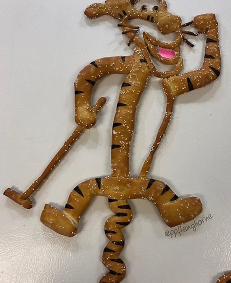 Pretzel Sculpture