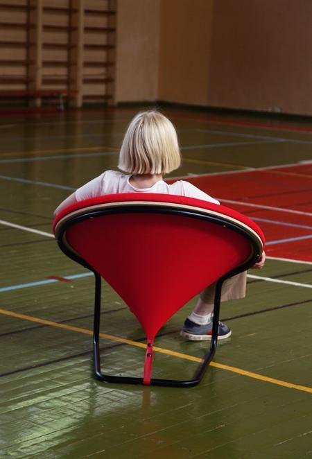 Gaudute Zilyte Red Dot Chair