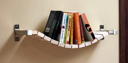 Rope Bridge Shelf