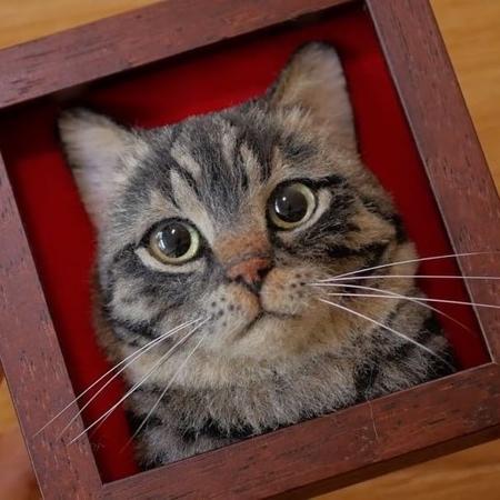 Realistic 3D Cat Portraits