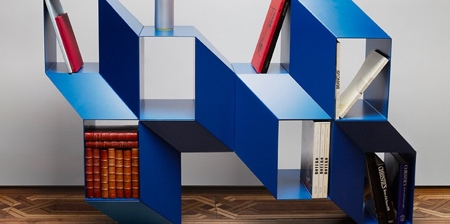 3D Illusion Bookcase