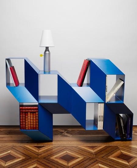 Cube Illusion Bookcase