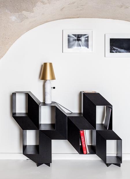 Charles Kalpakian 3D Illusion Bookcase