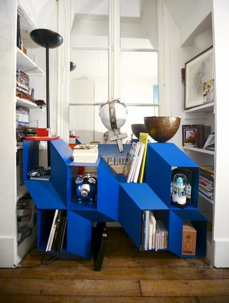 Charles Kalpakian Illusion Bookcase