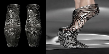 3D Printed Mycelium Shoes
