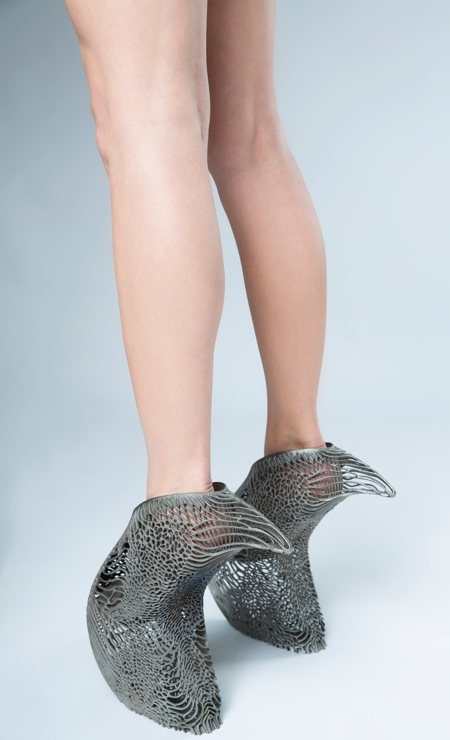 Ica and Kostika Mycelium Shoes