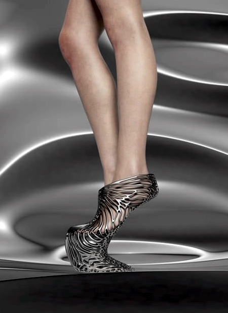 Ica and Kostika 3D Printed Shoes