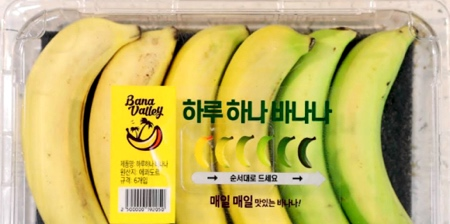 6 Day Banana Packaging