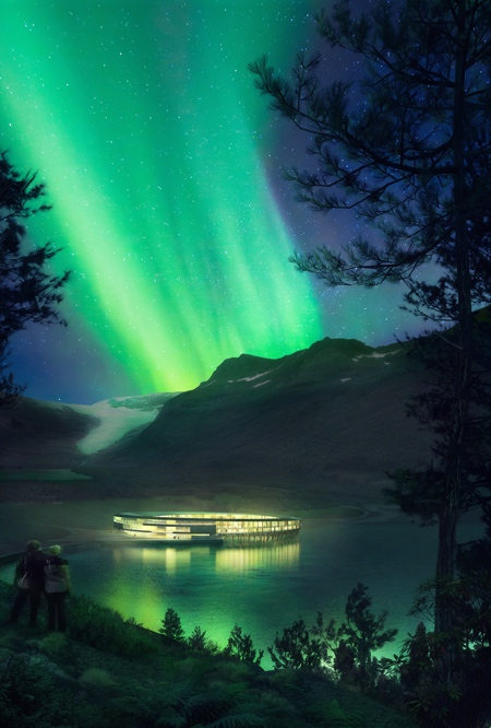 Hotel in the Arctic Circle