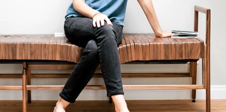 Adjustable Wooden Bench