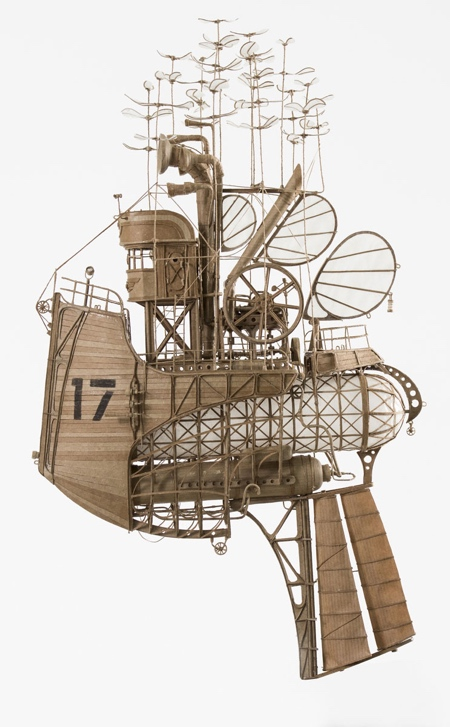 Cardboard Airships