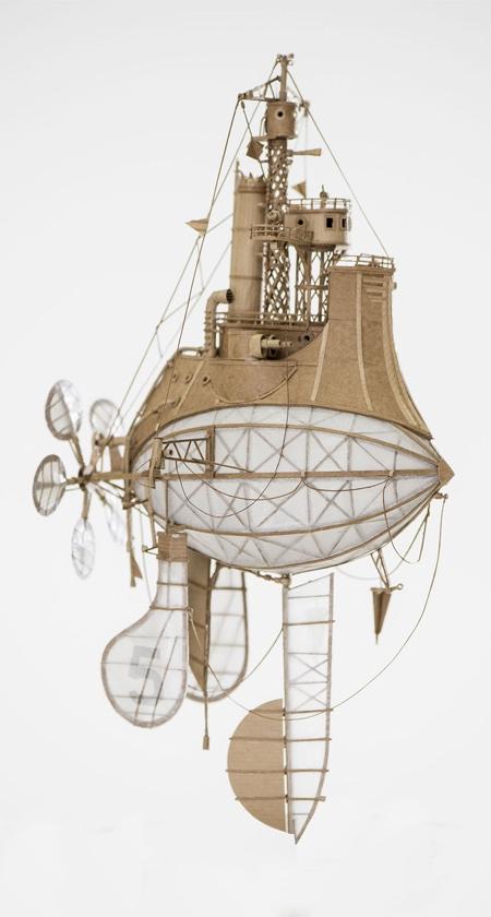 Jeroen van Kesteren Cardboard Air Ships