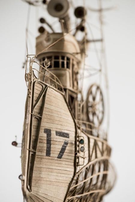 Cardboard Airship