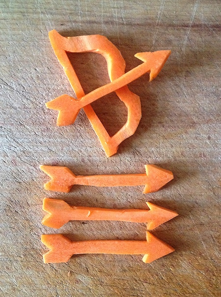 Carrot Carving