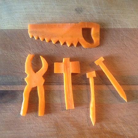 Carrot Sculptures