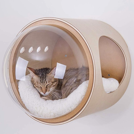 MYZOO Spaceship Cat Bed