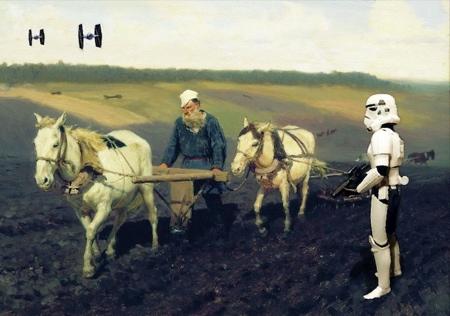 David Hamilton Star Wars Paintings