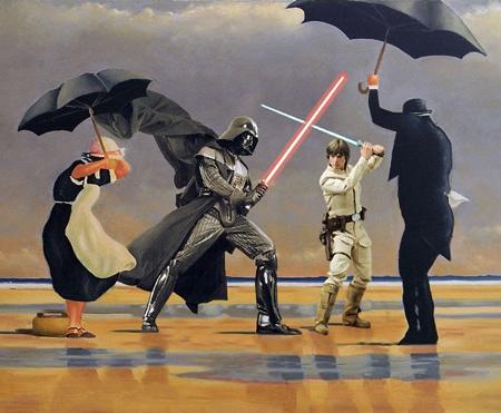 David Hamilton Classic Star Wars Paintings