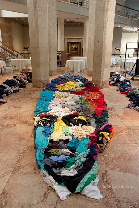 Portraits Made of Clothing