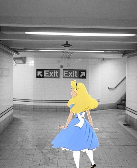 Disney Princesses in New York
