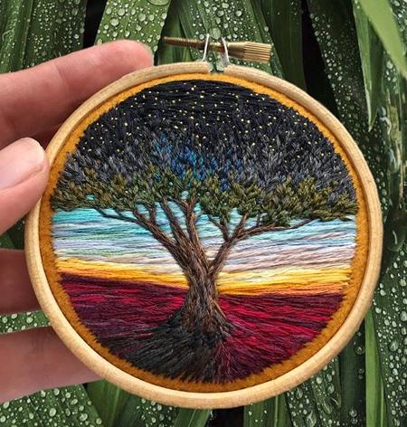 Needle Paintings