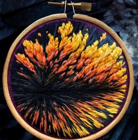 Needle and Thread Painting