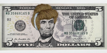 Embroidered Money Wigs