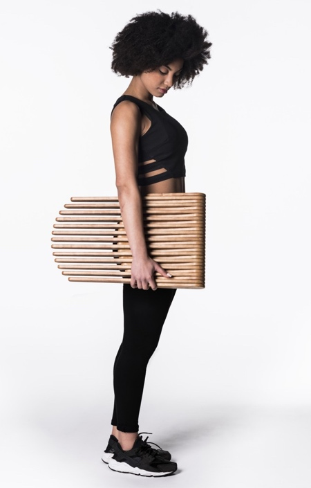 Wooden Foldable Stool