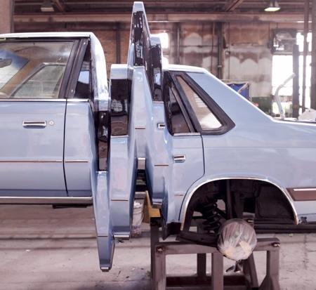 Glitch Art Car