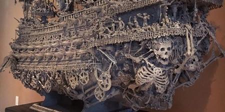 Gothic Pirate Ship