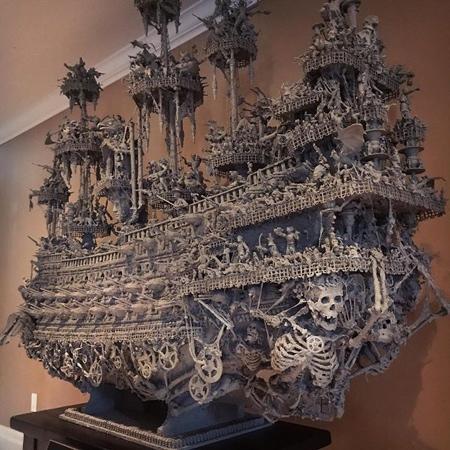 Jason Stieva Pirate Ship