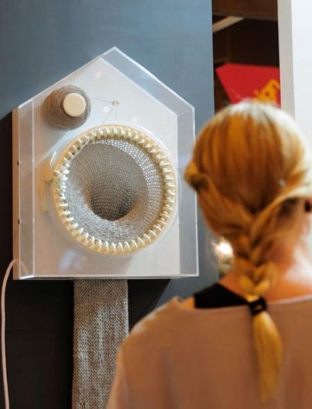 Siren Elise Wilhelmsen Knitting Clock