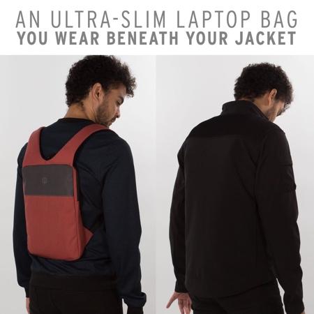 Under Jacket Laptop Backpack