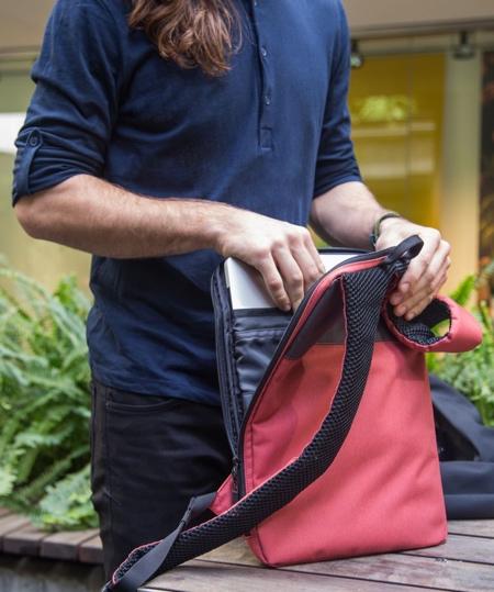 Under Jacket Laptop Bag