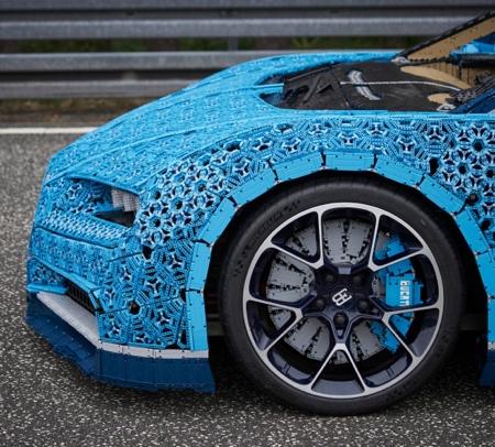 Bugatti Chiron Made of LEGO