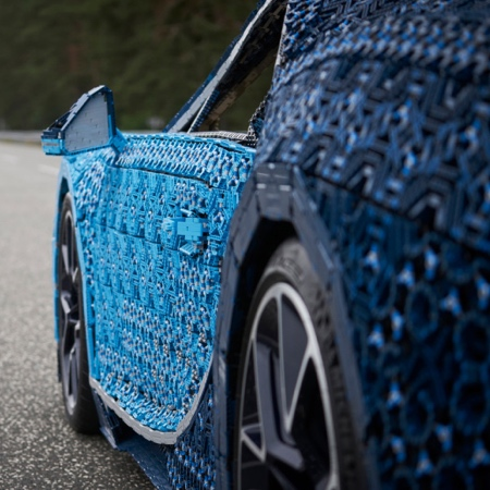 Bugatti Made of LEGO