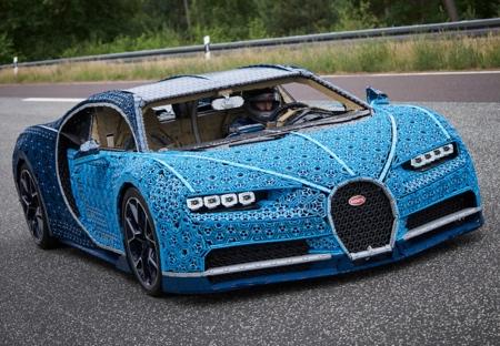 Bugatti LEGO Car