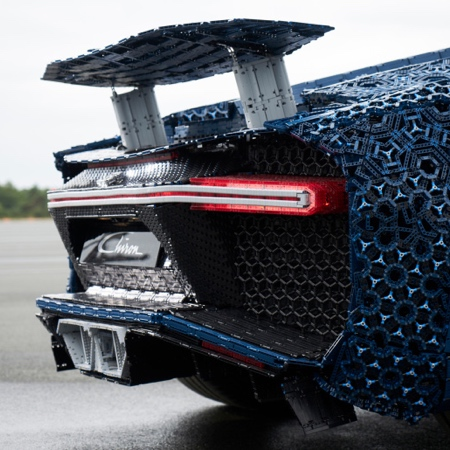 Bugatti Chiron LEGO Car