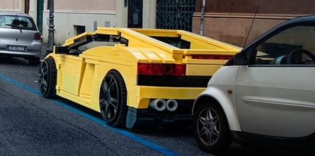 LEGO Cars in Real World
