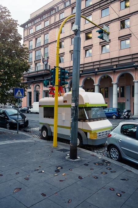 Giant LEGO Car