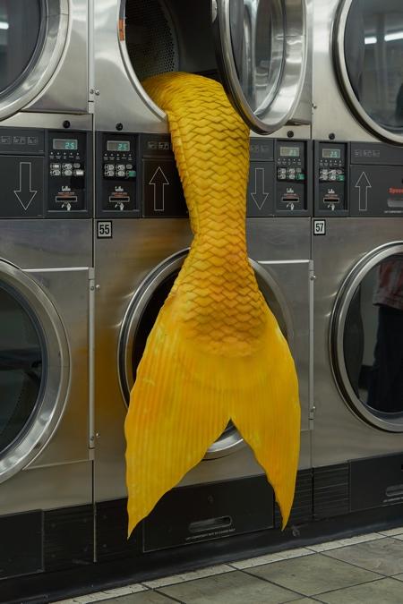 Mermaids in LA Laundromats