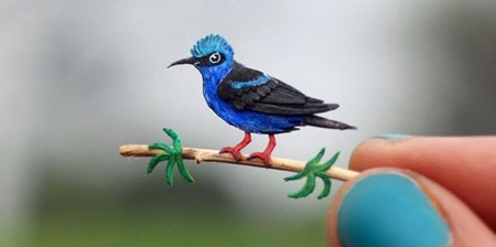 Miniature Paper Birds