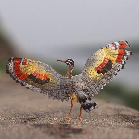 Miniature Paper Bird