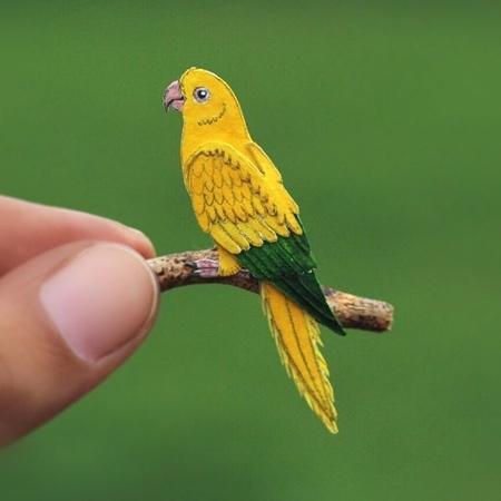 Nayan Shrimali Paper Birds
