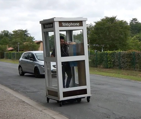 Mobile Telephone Booth
